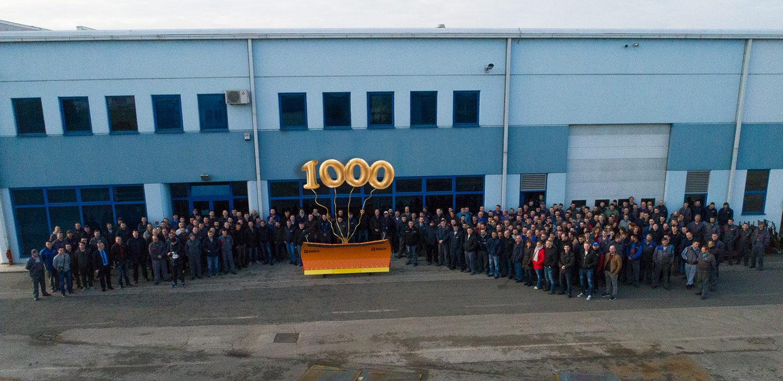 Proizveli smo 1000-ti snježni plug MOSOR PK