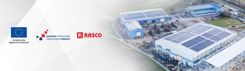 OIE: Povećanje energetske učinkovitosti i korištenje obnovljivih izvora energije u proizvodnom pogonu tvrtke RASCO d.o.o.